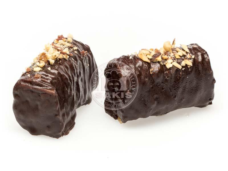 Saraglaki with Compound Chocolate Coating - Siropiasta Sakis