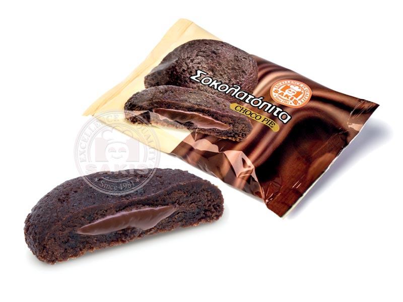 Σοκολατόπιτα - Σιροπιαστά Σάκης